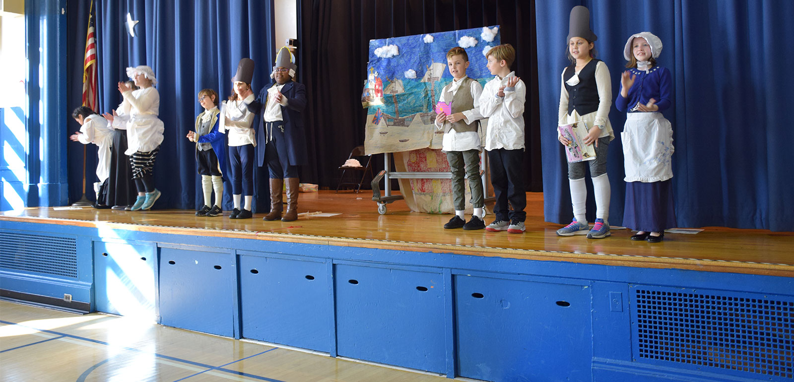 East School Shares American Revolution Explorations photo