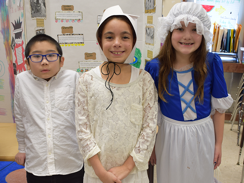 Lindell's Colonial Day Combines Core Subjects