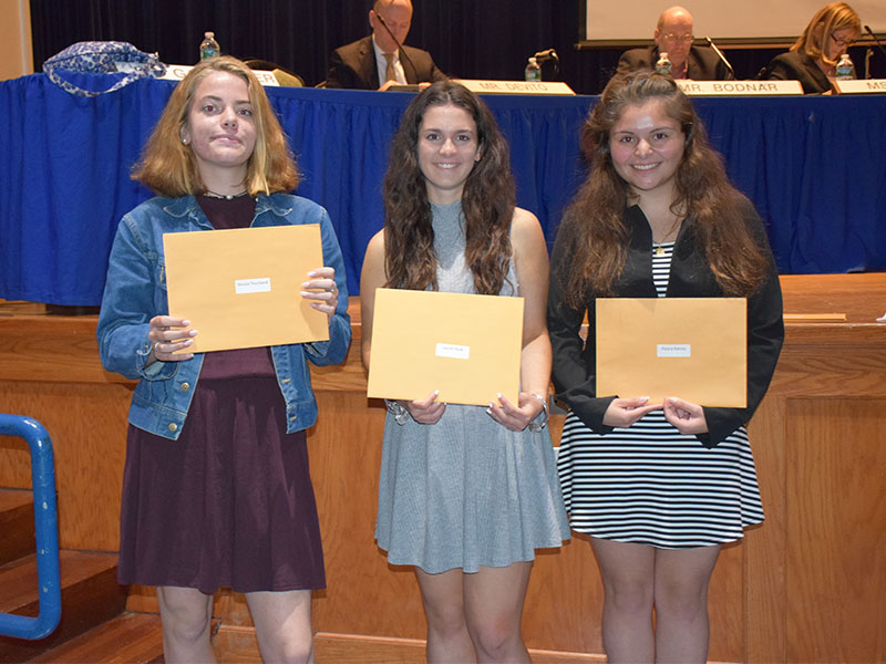 Board Meeting Honors Academic Achievements, Tenure Recipients