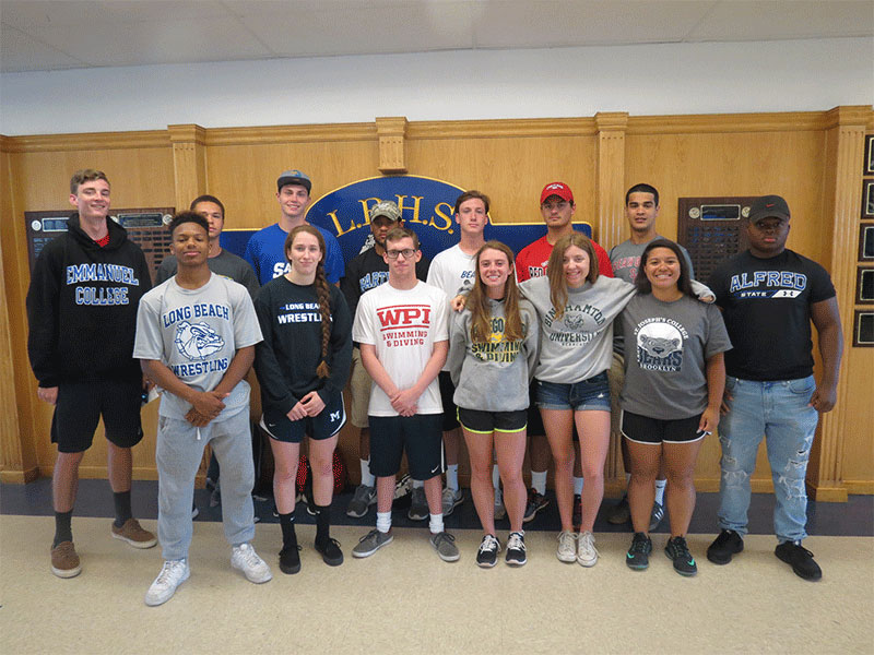 LBHS Grads Gear Up for College-Level Sports