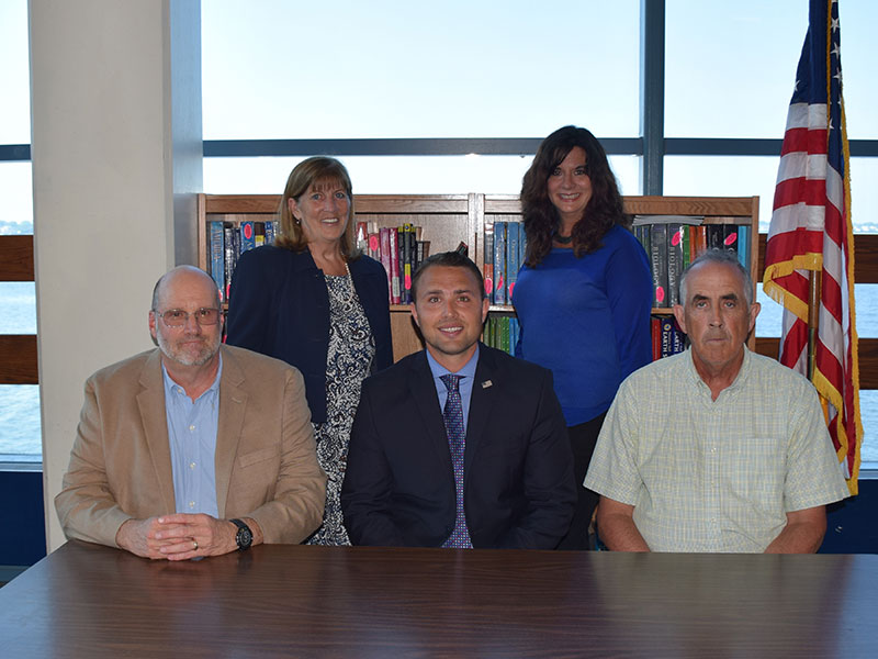 Board of Education Welcomes New Members, Elects Officers