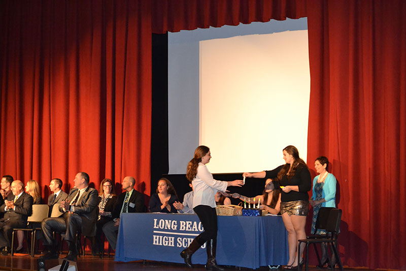 LB Schools Induct New Honor Society Members