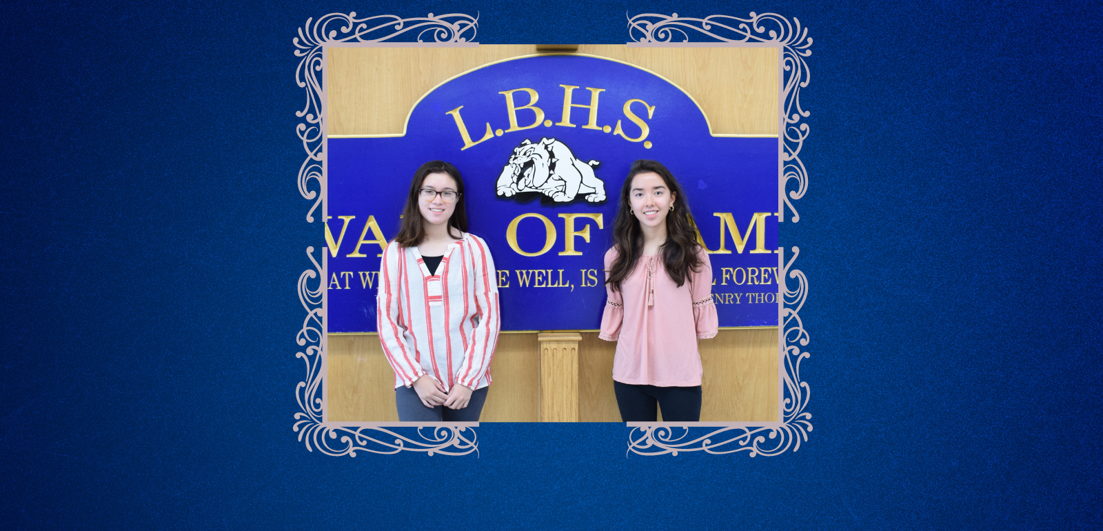 Valedictorian and Salutatorian Bring 'Twinspiration' to LBHS