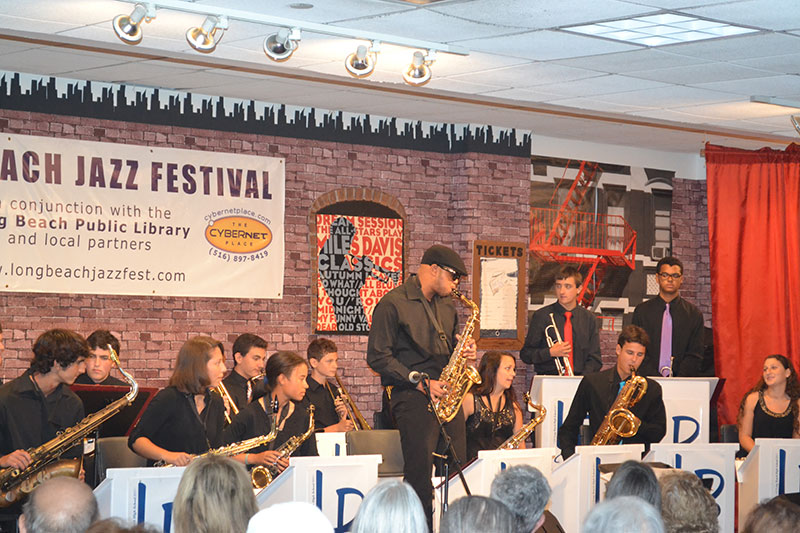HS Students Perform at 12th Annual LB Jazz Festival
