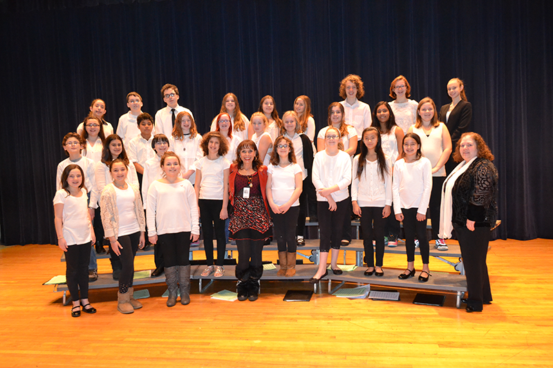 Music & Theatre Legacy Foundation Sponsors LBMS Chorus to Take the Stage