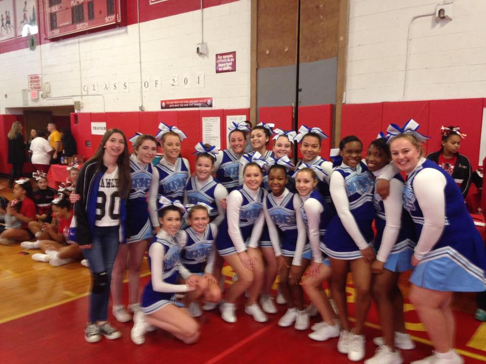 Long Beach Cheerleaders Take on First Competition with Fervor