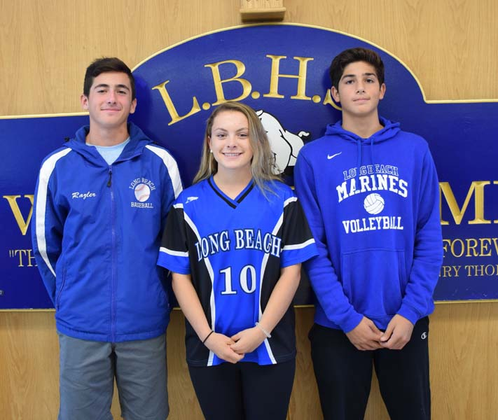 Three LBHS seniors earn Wendy's High School Heisman Awards