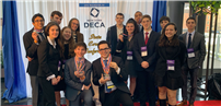 LB DECA Students Demonstrate Business-Savviness photo