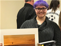 LB Student Rewarded for First Place Photo