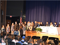 LB inducts 116 new NHS members Photo