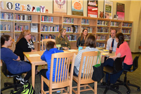 LB Middle School Book Talk Promotes Acceptance and Builds Connections Photo 2